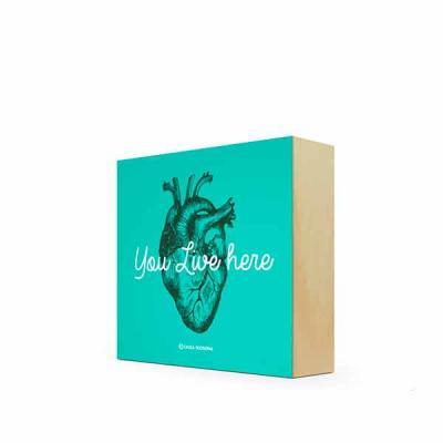 Caixa Filosofal - Quadro Bloco 12 x 12