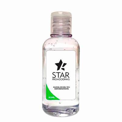 Star Promocionais - Álcool gel personalizado para brindes