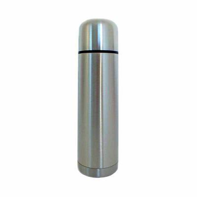Star Promocionais - Garrafa térmica em inox personalizada, 350 ml, com tampa rosqueável e tampa interna em plástico.