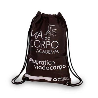 Super Bag Artigos Promocionais - Mochila Sacochila em TNT personalizada