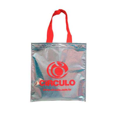 super-bag-artigos-promocioanais - Sacola em TNT Metalizado