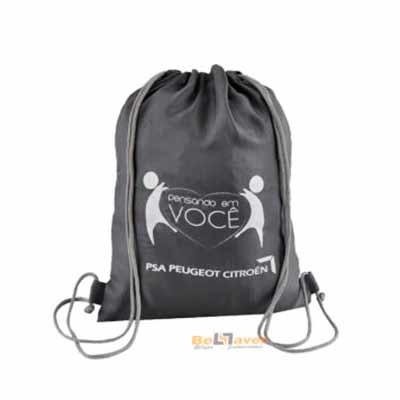 Bellaver Bolsas Promocionais - Saco Mochila personalizado