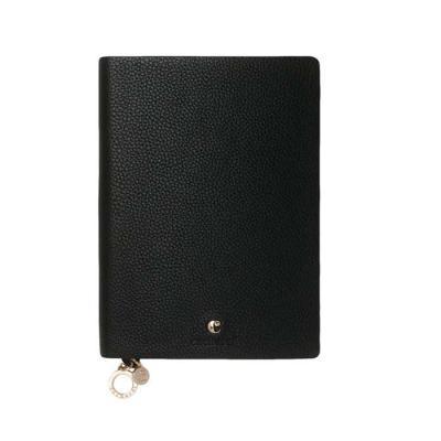 Smart Promocional - Couro sintético. Com 80 folhas não pautadas.  Fornecida em caixa de oferta.  11,1 comp. x 15,1 alt. x 1,5 cm esp.