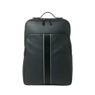 Smart Promocional - Couro sintético. Interior forrado com divisória para notebook.  Bolso frontal e bolso na parte posterior, com zíper.  Alças almofadadas. Fornecida com...
