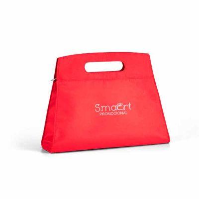 Smart Promocional - Necessaire para cosméticos de microfibra