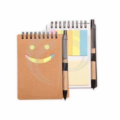 Color Plus Brindes - Bloco de Anotações com Sticky notes e Caneta