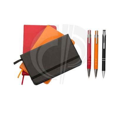 Color Plus Brindes - Kit - Bloco de Anotações / Caneta