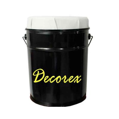 Decorex - Banqueta / Puff em forma de Lata