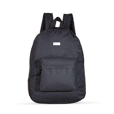 """Blimp Brindes - Mochila nylon 600 para notebook. Possui compartimento superior com bolso interno e bolso frontal. Zíperes com """"pegador"""" de nylon, alças ajustáveis e a..."""