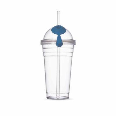 Blimp Brindes - Copo Plástico 480ml com Canudo