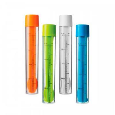 Blimp Brindes - Kit de coquetel. Dosador/agitador com escala de medição em ml e fl oz. Capacidade: 60 ml. Incluso 2 mexedores, 1 pinça para gelo e 1 colher/garfo 2 em...