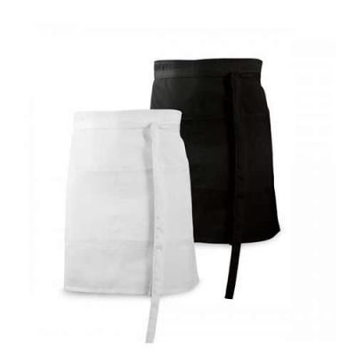 Blimp Brindes - Avental. Algodão e poliéster: 150 g/m². Ajustável. Com 2 bolsos.