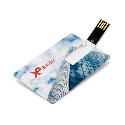 Blimp Brindes - Pen Card com gravação em UV Digital; Útil, leve e com amplo espaço para personalizar a logomarca em impressão digital esse é o brinde ideal. Acabament...