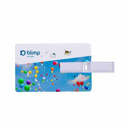 Blimp Brindes - Pen Card 32 GB com gravação em UV Digital