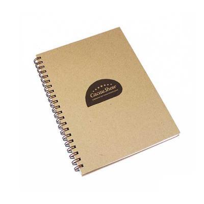 Crie Gráfica & Brindes - Caderno grande kraft