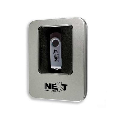 ALL PEN - Embalagem de metal para Pen Drive personalizada