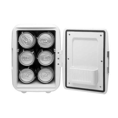 Chilli Brindes - Mini geladeira plástica portátil com função quente e frio! Refrigeração para incríveis 05 graus, e também aquecimento de 50/65 graus! Possui: Alça par...