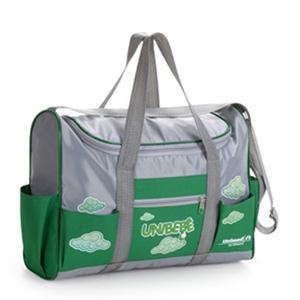 Jumas Produtos Promocionais - Bolsa em nylon 70 com ziper, alça de mão e ombro, bolsos na frente e laterais. (MEDIDAS: 34x26x11 ).