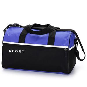 Jumas Produtos Promocionais - Mala em nylon 600 com zíper, bolso na frente e lateral e alça de mão e ombro.