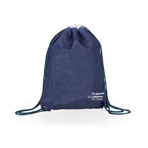 Jumas - Mochila saco em nylon amassado, cordão duplo de ombro. MEDIDAS: 33cm x 40cm