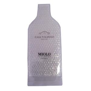Jumas Produtos Promocionais - Porta garrafa em cristal 020 com saco bolha e fechamento em fita dupla.
