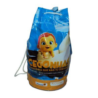 Jumas - Saco mochila em PVC com personalização
