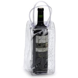 Jumas - Sacolinha para vinho em cristal 030 com alça espaguete.