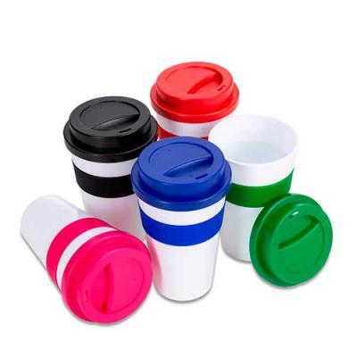 Box Brindes - Copo plástico 480ml com tampa