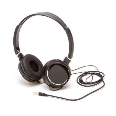 Box Brindes - Headphone estéreo com fio pesonalizado