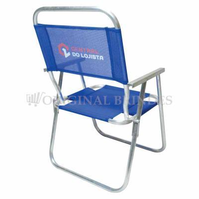 Original Brindes - Cadeira de praia alta