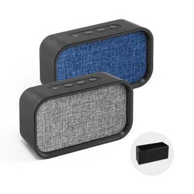 Soma Brindes - Caixa de som bluetooth com microfone