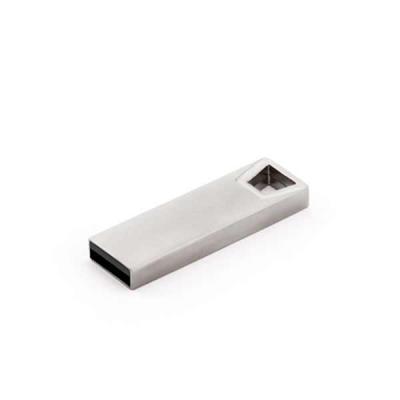 Soma Brindes - Pen drive com memória COB. Alumínio. Capacidade: 32GB. 12 x 37 x 5 mm