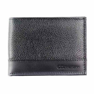 Bennemann Artefatos de Couro - Carteira com porta cartão de crédito, porta notas e porta carteira de motorista. Altura 8cm, largura 11cm, profundidade 0,8cm.
