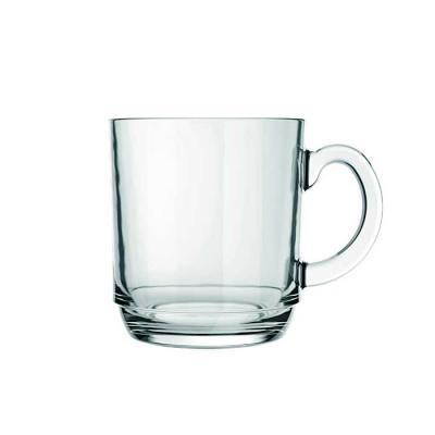 QI Brindes - Caneca de vidro transparente  Capacidade: 300 ml Largura: 11,1 x 8 cm Altura: 8,9 cm Peso Unitário: 270 g