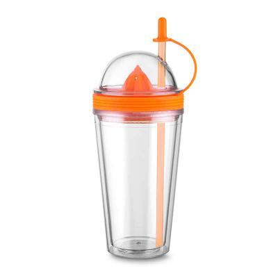 qi-brindes - Copo Plástico Espremedor 500ml