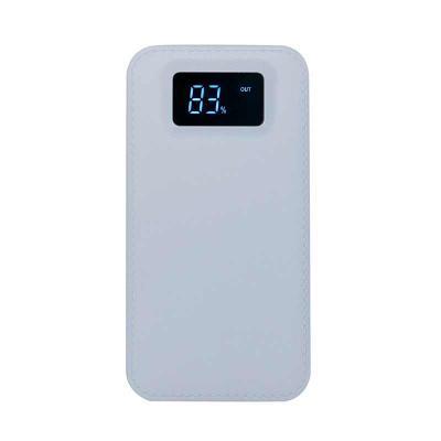 QI Brindes - Power Bank Plástico com Visor Digital  personalizado