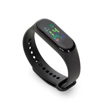 qi-brindes - Pulseira Smartwatch M3