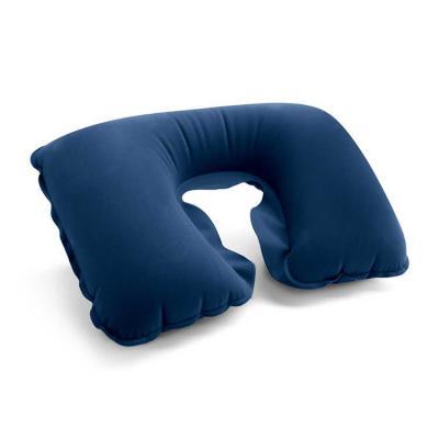 qi-brindes - Almofada de pescoço. PVC aveludado. Fornecida em bolsa. Vazio: 425 x 275 mm | Bolsa: 175 x 115 mm