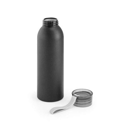 QI Brindes - Squeeze. Alumínio. Com fita em silicone. Capacidade: 660 ml. Food grade. Caixa branca 94651 vendida opcionalmente. Ø65 x 228 mm