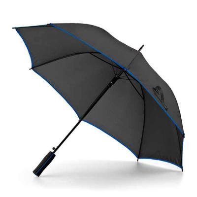 QI Brindes - Guarda-chuva. Poliéster 190T. Pega em EVA. Abertura automática. ø1040 mm   825 mm