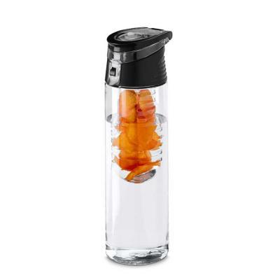 QI Brindes - Squeeze. AS e PP. Com infusor de frutas. Capacidade: 740 ml. Food grade. Caixa branca 94657 vendida opcionalmente. ø70 x 247 mm