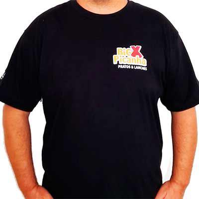 Tiff Gráfica - Camiseta Personalizada 100% algodão Fio 30.1 Penteado