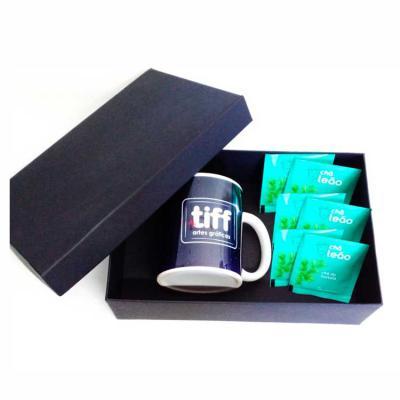 Tiff Brindes - Kit Chá Personalizado