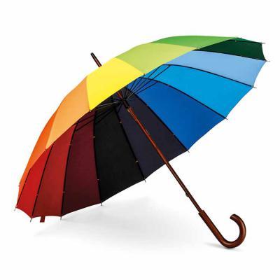 Tiff Brindes - Guarda-chuva Colorido Personalizado