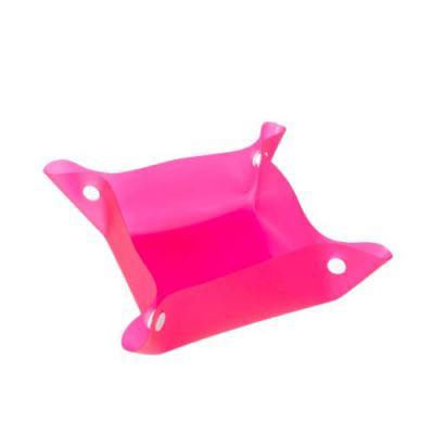 Tiff Brindes - Tigela Personalizada Plástica para Pets, bebedouro e comedouro. Material plástico, basta juntar os botões das laterais para formar uma espécie de tige...