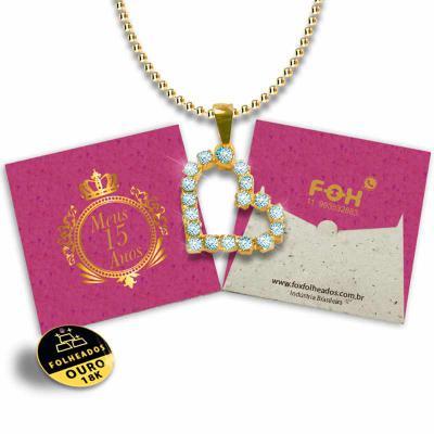 Fox Brindes que Valem Ouro - Jóias na Embalagem Personalizada de Acordo Com o Seu Projeto, comprou ganhou, folheados a ouro 18K com preço justo.