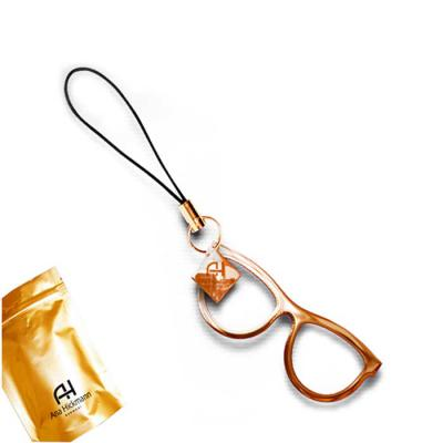 Fox Brindes que Valem Ouro - Chaveiro Óculos Personalizado