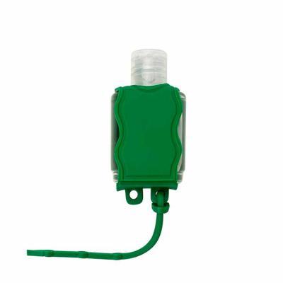 Maxim Brindes - Capinha de silicone Chaveiro para álcool gel 35ml