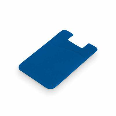 maxim-brindes - Porta cartões para celular em PVC com autocolante - Diversas cores