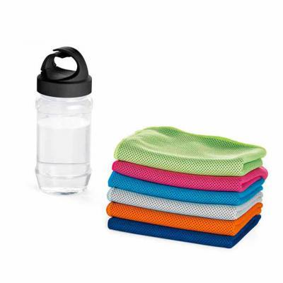 Maxim Brindes - Squeeze plástico com toalha para esporte